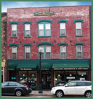 The Phillips Building - 14 East Main Street - Bloomsburg Pa. 17815